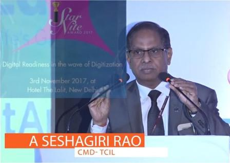 Digital Readiness in the wave of Digitization - CMD, TCIL Speech